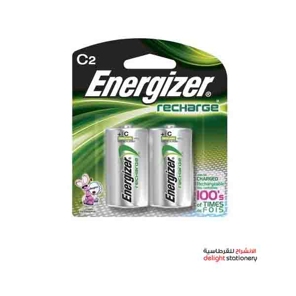 Energizer rechargeable c size nh 35 bp2 battery (2 pack)