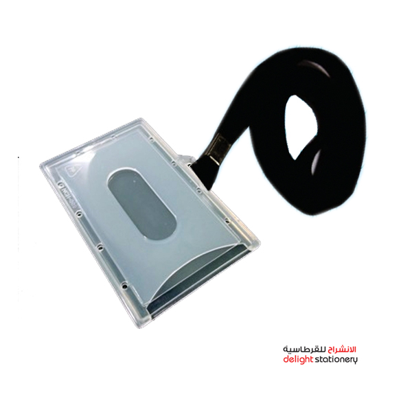 Fis nch002 id card holder with lanyard