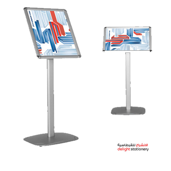 General poster frame with stand (signage stand)