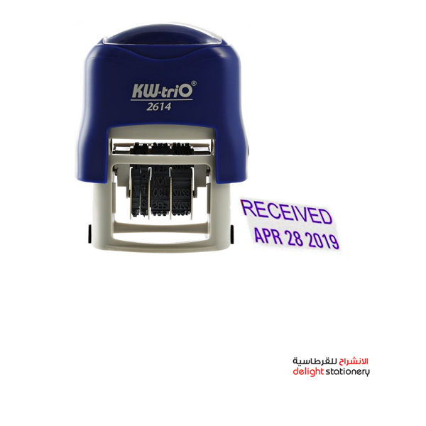 Kw-trio self ink automatic stamp