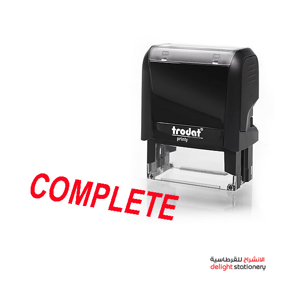 Trodat self ink automatic stamp